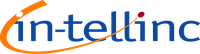 In-tellinc logo with vivid colours